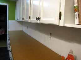 interior cool beadboard kitchen backsplash with stoves oven