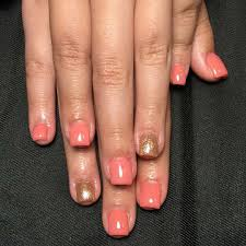 best style peach nail art designs 2017 style you 7
