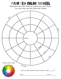 color theory worksheets teacher activities and worksheets
