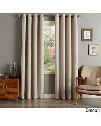 Grommet Top Blackout Curtains Amazing Deal On Home Silvertone Grommet Top Thermal