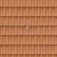 Terracotta Roof Tile Texture Seamless 03483