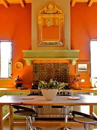 Orange Kitchen Cabinets Orange Kitchen Photos Hgtv