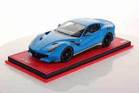 Ferrari F12 Blue - ferrari f12 tdf 1 18 mr collection models