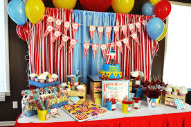 interior design awesome carnival themed birthday party