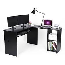 bureau informatique 120 cm songmics bureau informatique avec tablette coulissante pour clavier