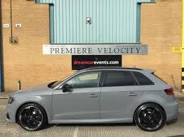 audi rs3 hire sports car hire premiere velocity