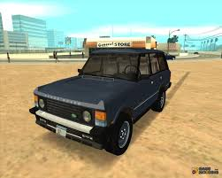 land rover classic range rover county classic for gta san andreas