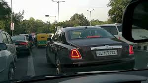 roll royce delhi following rolls royce on indian roads youtube