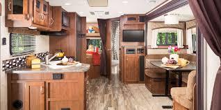 Kitchen Overhead Cabinets 2017 White Hawk Travel Trailer Jayco Inc