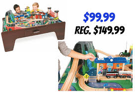 imaginarium train table 100 pieces imaginarium 100 piece mountain rock train table only 99 99 reg