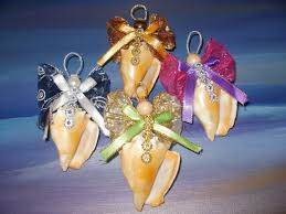 seashell crafts for adults ornament fighting conch shell