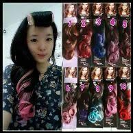 hair clip murah jual beli hair clip ombre hairclip