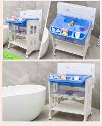 Bath Changing Table Pm3318 Eco Friendly Folding Baby Bath Changing Table With Bathtub