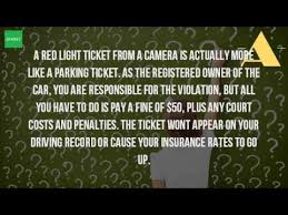 how much does a red light ticket cost in california how much is a red light ticket youtube