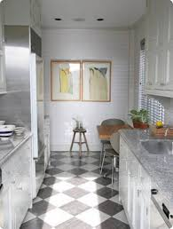 adorable small modern galley kitchen features rectangle shape