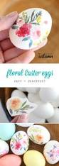 Decorating Easter Eggs Toddlers by Beautiful Floral Easter Eggs Using Tattoo Paper Eggs Kid And