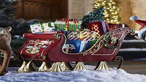 christmas sleigh decoration tabletop decorations christmas