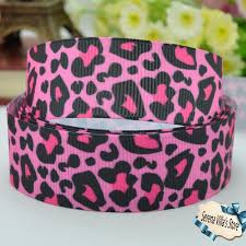 leopard ribbon buy pink leopard print ribbon and get free shipping on aliexpress