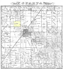 Illinois Map By County by Map Of Sparta Township Knox Countyr Illinois Cira 1870