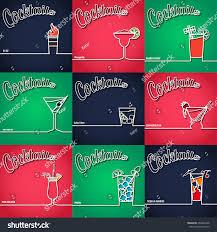 margarita outline vector illustration cocktail icon outline design stock vector