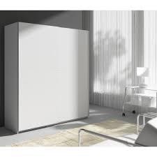 chambre contemporaine blanche armoire style contemporain blanc l 170 cm achat vente