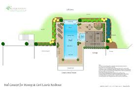 house plan with swimming pool