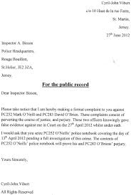 cover letter police officer brilliant ideas of example complaint letter against police officer