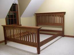 bed frame cherry bed frame google search vintage style wooden
