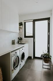 Luxury Laundry Room Design - maria opens the doors to her luxurious and contemporary home