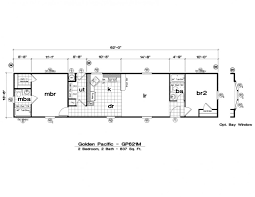Champion Manufactured Home Floor Plans by Mobile Home Design Plans Hahnow