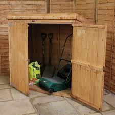 Plastic Outdoor Storage Cabinet Garden Wooden Outdoor Storage Box Yard Storage Box Outdoor