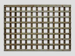 traditional square trellis pennine square fence trellis