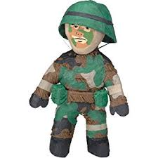 Army Guy Halloween Costume Amscan Pinatas Army Man Amazon Uk Toys U0026 Games