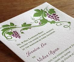 sts for wedding invitations letterpress wedding invitation letter impressed by ajalon