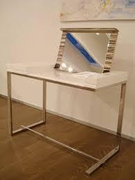 Modern White Vanity Table Modern White Dressing Table U2013 Melina By Sabinoaprile Digsdigs
