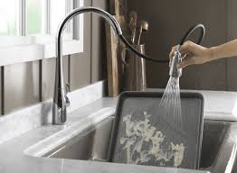 Touch Activated Kitchen Faucets No Touch Kitchen Faucet Ideas Including Bar Faucets Touchless