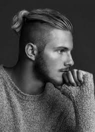 guy ponytail hairstyles mens hairstyles with ponytails fade haircut