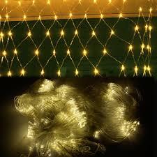 warm white 300 led net mesh decorative fairy light lighting