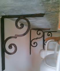 Iron Corbels For Granite Countertops Countertop Brackets Address Plaques And Drapery Medallions