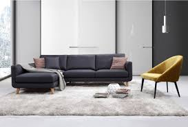 Straight Sectional Sofas Modern Sectional Sofas Allmodern
