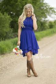 when the night is young in royal blue bridesmaid a beautiful