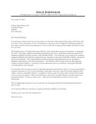 best sample legal cover letter experienced attorney 55 in sample