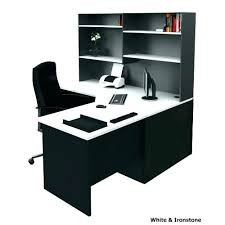 Black Corner Office Desk Black Corner Desk Bethebridge Co