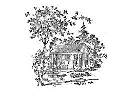 free cabin plans from the usda bootjack cabin
