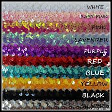 sequin headbands sequin headbands 10 mixed colours or 12 same colour lil