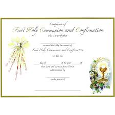 Confirmation Invitation Cards Combined Sacraments Certificate First Holy Communion And