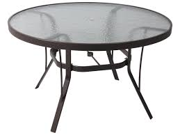 Simple Dining Room With Polished Black Carliste Patio Dinette by 36 Round Glass Table Round Designs