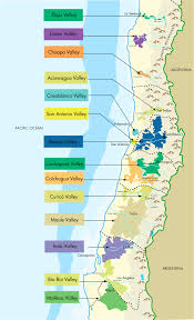 Napa Valley Winery Map Chilean Wineries Of Chile Smackdown 8 Chilean Reds Blind