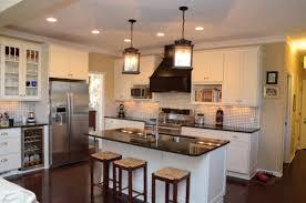 Oak Wood Kitchen Cabinets White Polished Oak Wood Kitchen Cabinet With Black Wooden Chimney