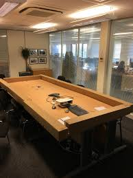 Table Tennis Boardroom Table When A Boss Asked His Employees For A Favor He Didn U0027t Expect This